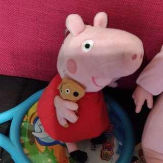 🚚 小豬佩佩可愛玩偶