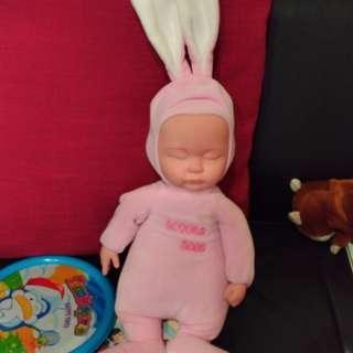 🚚 粉色小baby娃娃