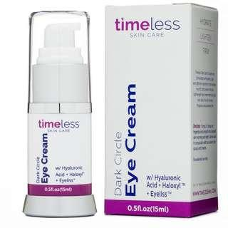 🚚 TIMELESS Dark Circle Eye Cream 15 ml (USA)