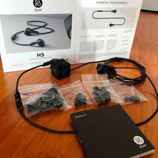 B&O H5 Wireless Earphones.