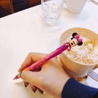 🚚 Disney 迪士尼 萬聖節限定 米妮自動鉛筆購於 日本迪士尼