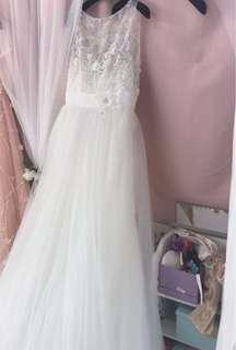 (特價)二手婚紗 歐州品牌 wedding gown pre wedding