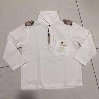 Burberry White long sleeves