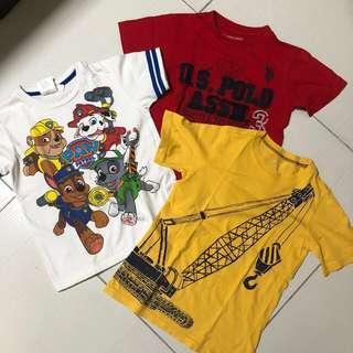 Boys Tshirt bundle of 3
