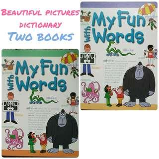 My Funs with Words : Children pictures dictionary