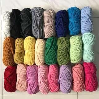 Customization - dual color yarn necklace