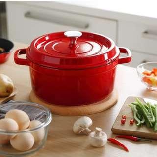 Cast iron soup pot 24 CM