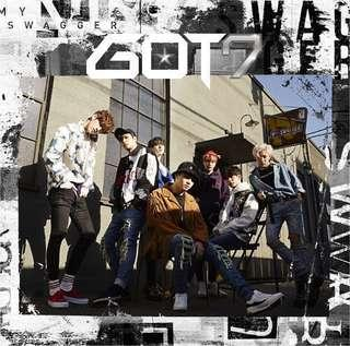 [WTS] got7 my swagger poster + badge