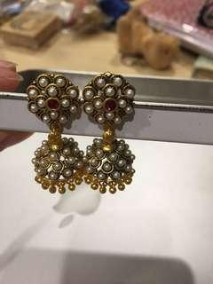 Indian style ear ring