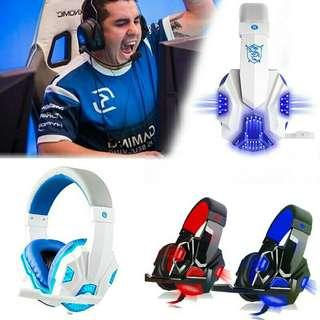 Rm50 only-BUBG,ROS, FREE FIRE, Gaming Game Headset LED Light