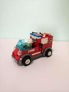 LEGO Fire Fighting Vehicles