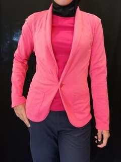 Uniqlo Pink Blazer