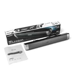 Elegiant USB Powered Sound Bar Speaker for Monitor Desktop PC Computer Mobile