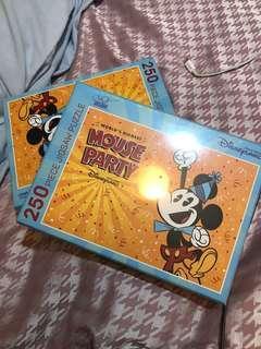 迪士尼puzzle $80 兩盒
