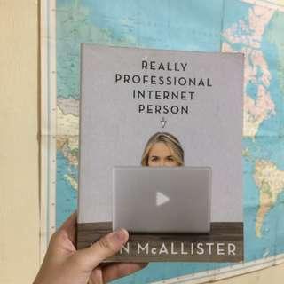 Really Professional Internet Person bu Jenn McAllister