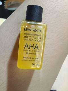 AUTHENTIC MIMI WHITE AHA SERUM