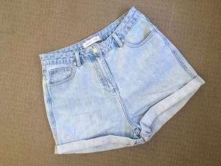 Assembly Label denim shorts