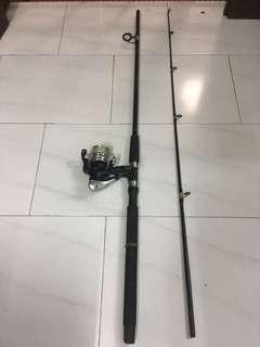 Used 7'ft Ofmer Fishing rod and Shimano FX4000 Reel