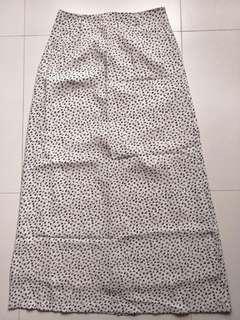 ⚡SALE🔛[BN] Flower Petals Print Chiffon Long Skirt