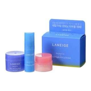 Laneige Water Sleeping Mask , Lip Sleeping Mask , Eye Sleeping Mask