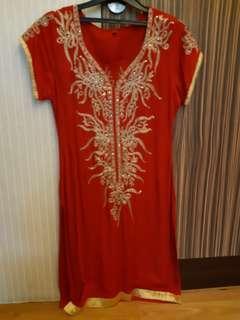 Bohemian glam tunic