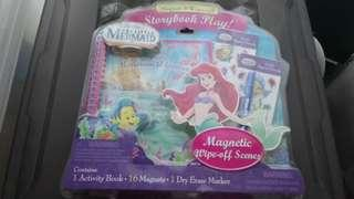 The Little Mermaid Activity Book & Magnets