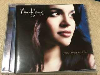 Norah Jones - come away with me 2001年 made in EU ( CD聖經上榜天碟)