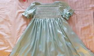 Bohemian looking flowing dress