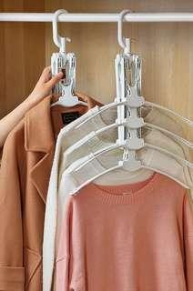 PREORDER - Home Clothes Hanger (8 X1) Foldable Save Space Hanger