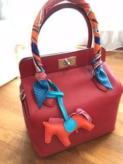 Brand new Hermes Toolbox 20 Swift Vermillion Red