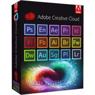 (All-in-1) Adobe Creative Cloud 2017 Master Collection #JAN55