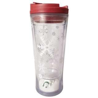 STARBUCKS星巴克聖誕節北極熊雪花隨行杯/咖啡杯 交換禮物