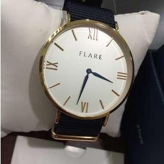 FLARE TIMEPIECES R. BLUE HEART