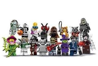 Lego Minifigures 71010 full set