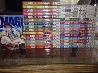 Magi Volume 1-26 & The Adventures of Sinbad volume 1-4 (Manga)