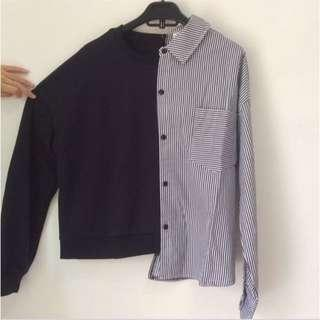 Kemeja Sweater Import BKK