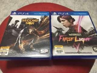 InFamous Second Son & First Light PS4 Dual Pack