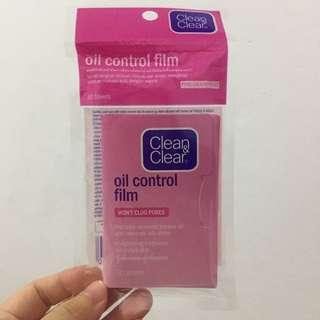 Clean & clear oil control face paper