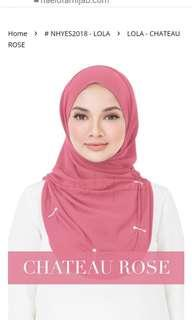 Naelofar Hijab Lola original