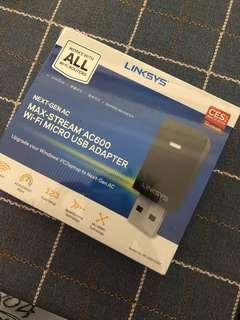 Linksys Max-Stream AC600  USB Adapter