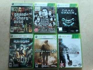 Xbox 360 game (議價不覆,只郵寄)