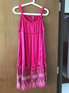 🛍Pink Dress with Embroidery