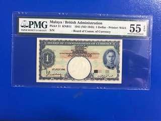 Malaya British Administration $1