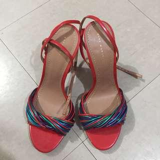 Candy-Colored Strappy Heels