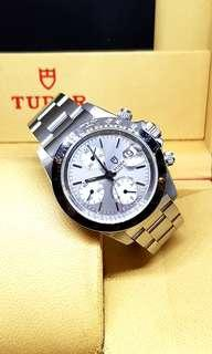 Tudor Prince Date Chronograph Watch (By Rolex)