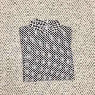 Geometry pattern blouse
