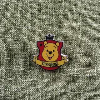 Pooh- 迪士尼襟章disney pin