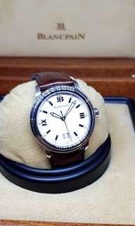 Blancpain Leman Big Date Dress Watch