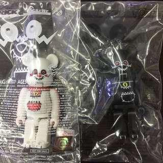 Medicom Toy 2010 T9G bearbrick be@rbrick set of 2
