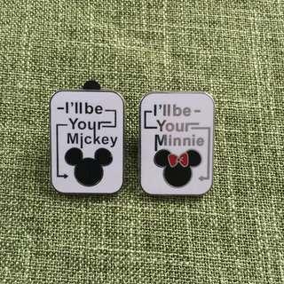 米奇-disney pin迪士尼襟章
